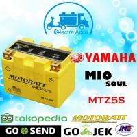 Aki motor Yamaha Mio Soul Motobatt MTZ5S aki kering