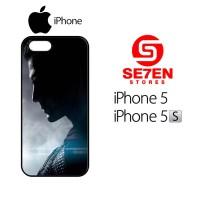 Casing HP iPhone 5 5s Batman V Superman wallpaper Custom Hardcase Cove