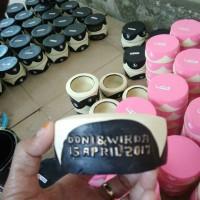Jual souvenir pernikahan asbak bulat Murah