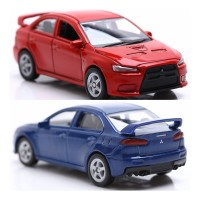 Die Cast Welly Mitsubishi Lancer Evo X 52343W Scale 1:60-RED MBW 351