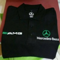 polo shirt/kaos kerah MERCEDES BENZ terlaris