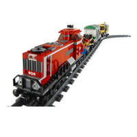 Lego 3677 City: Red Cargo Train