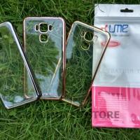 Asus Zenfone 3 Max 5.5 Ume Electropaint Chrome Soft Case Casing