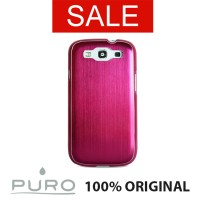 Puro GS3 Metal Pink For Samsung Galaxy S3 / S3 Neo Smartphone Case