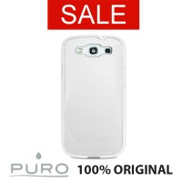 Puro GS3 Metal White For Samsung Galaxy S3 / S3 Neo Smartphone Case