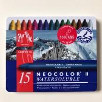 ATK295CR 15 warna Neo 2 Carandache Caran d'ache Karandas Crayon refill