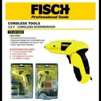 3,6v Cordless Screwdriver FISCH TS 601200, Mesin Bor Ob Limited