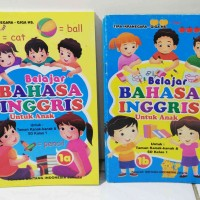 Buku Belajar Bahasa Inggris Untuk PAUD / TK / SD Edukatif Murah