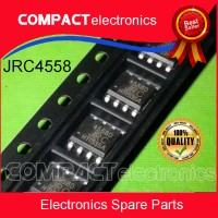 JRC4558D SMD JRC4558 IC 4558 Low-Power Dual-Operational Amplifiers