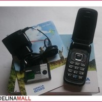[Diskon] Nokia 6085 Flip Black | Nokia Jadul Ori | Hp Jadul Murah