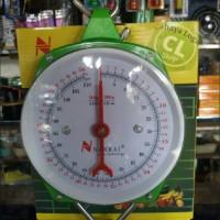 Jual timbangan gantung jam analog 50kg Murah