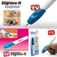 Engrave It Alat Ukir / Pulpen Pengukir Nama Lukisan Elektrik Tangan