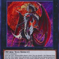 Kartu Yugioh Number 24: Dragulas the Vampiric Dragon [Secret Rare]