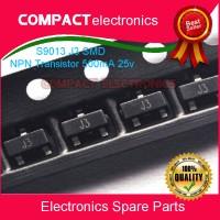 S9013 J3 SMD NPN Transistor 500mA 25v SOT-23 9013 C9013 FCS9013