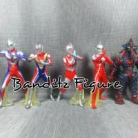 Mainan Ultraman Set 5A Baru | Mainan Action Figure Murah Lengkap