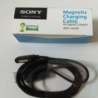 Kabel Data Magnetic Sony Experia Z Ultra Z1 , Z2 , Z3 Original