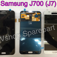 Lcd + Touchscreen Samsung J700 (J7) Oc Black/White/Gold