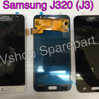 Lcd + Touchscreen Samsung J320 (J3) Oc Black/White/Gold