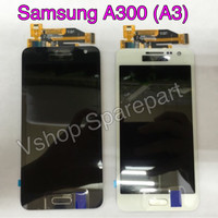 Lcd + Touchscreen Samsung A300 (A3) OC Black/White