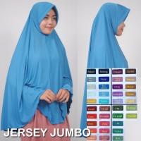 jilbab pesta jersey jumbo Murah