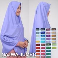 jilbab pesta najwa jumbo Berkualitas