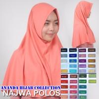 jilbab syari najwa polos Limited