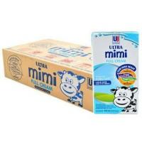 Jual Susu Mimi Ultra Full Cream 125 ml x 40 kotak - Plain Murah