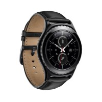 Samsung Galaxy Gear S2 Classic Leather Ceramic Smartwatch - Black