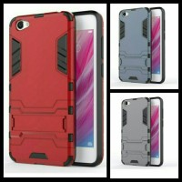 VIVO V5 Y67 Iron Man Armor Transformer Hardcase Cover With Rubber