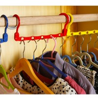 TERBARU ! Magic Hanger Gantungan Baju Magic Wonder Hanger Praktis