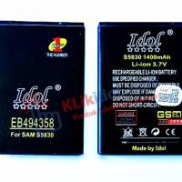 Baterai Idol Samsung Galaxy Ace / Fame