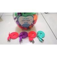 Kabel Vivan Fetucinne Micro USB Samsung Candy Colour