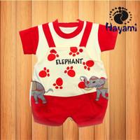 Harga baju setelan atasan kodok bayi lucu dan unik gambar jerapah biru dan | Pembandingharga.com