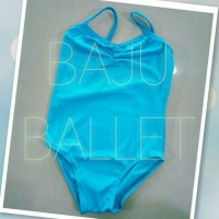 Leotard / baju ballet anak - tali kecil/camisole
