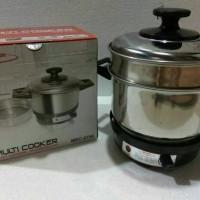 Maspion MEC 2750 Multi Cooker Alat Masak Serbaguna Elektrik