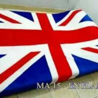 Jual selimut bulu karakter england flag Murah