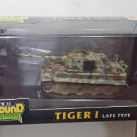 Easy Model Ground Series TiGer I German Heavy Tank 1:72
