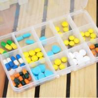 Kotak Obat 15 Kotak / Kotak Penyimpanan Obat / Kotak Aksesoris - X068
