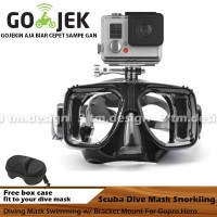 Diving Mask Dive Mask Snorkling Gopro Kacamata Renang Kamera Action