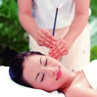 Ear candle pembersih telinga relax theraphy lilin aroma terapi cleaner