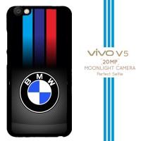 Carbon Fiber Bmw Logo X3210 Casing Premium Vivo V5 Custom Case