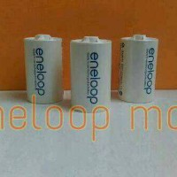Converter / adapter Baterai / Battery Eneloop size AA to D