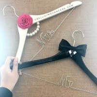 A4 - THE LUCKIEST - Wedding Hanger Personalized Souvenir