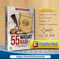Buku 55 Wasiat Nabi Muhammad yang Inspiratif dan Edukatif