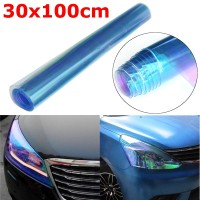 Sticker Headlight Taillight Chameleon Vinyl Tint Film LIGHT BLUE (m)
