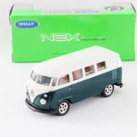 Welly VW Kombi Green Hotwheels Siku Matchbox diecast mainan hobby