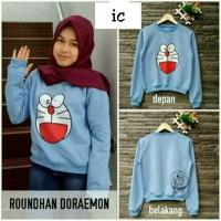 Jual roundhand doraemon | baju roundhand | sweater roundhand Murah