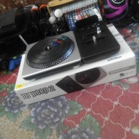 Jual PS3 DJ Hero 2 Turntable + BD Game nya (not guitar hero rockband Murah