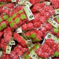 Jual Strawberry Roll Sponge Hair Curler Rambut Ikal Murah Murah