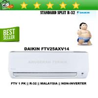 AC SPLIT DAIKIN 1 PK 1PK R32 MALAYSIA NON INVERTER - FTV25AXV14